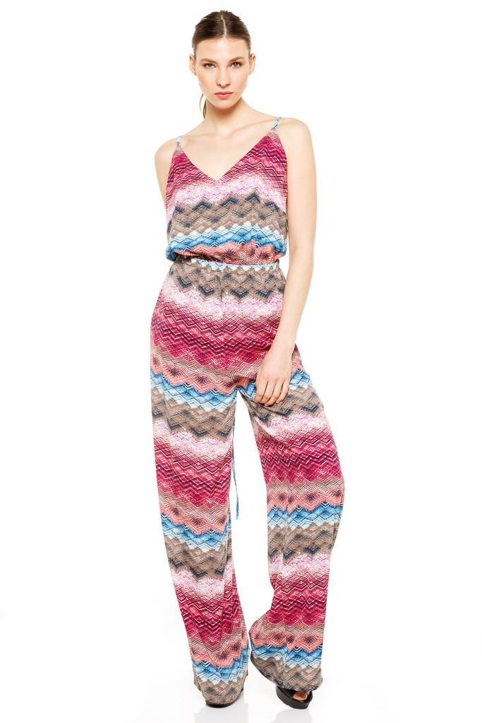 Printed Jumpsuit - Women Clothes |ckontova