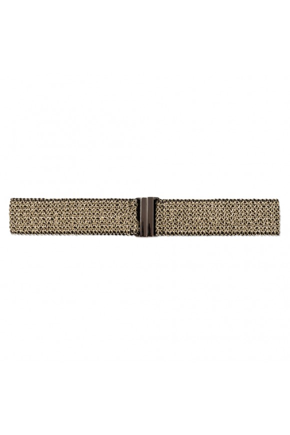 KNIT BELT GOLD OS
