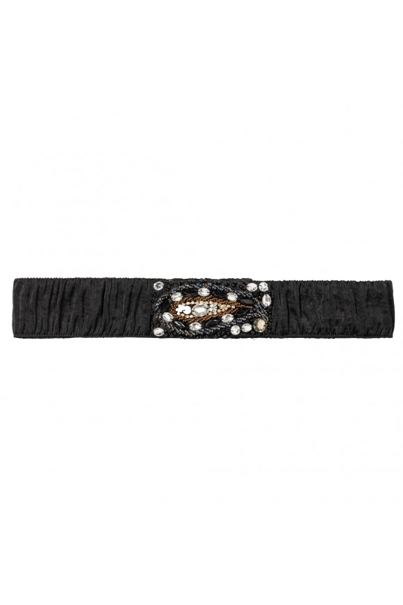 PAISLEY BELT BLACK OS
