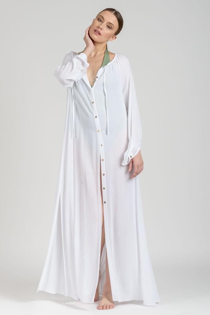 21a576487b91 Μακριά Πουκαμίσα Λευκή - γυναικεία ρούχα