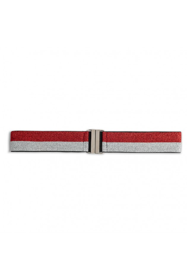 Stripe Belt Red Os