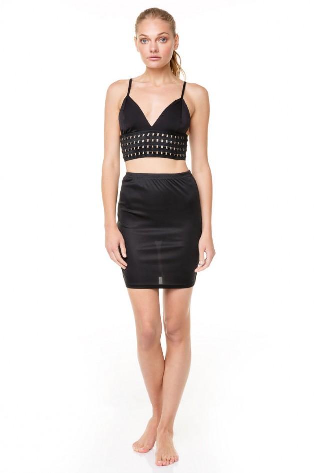 Εσωτερική Φούστα Μαύρη